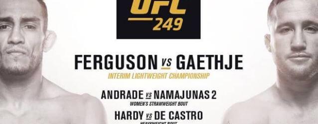 Dit is de line-up van UFC 249