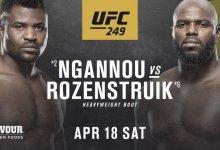 Waarom staat het gevecht tussen Francis Ngannou en Jairzinho Rozenstruik op de prelims?