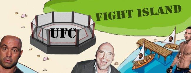 UFC Fight Island krijgt grote 30-foot octagon