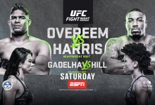 Uitslagen : UFC on ESPN 8 : Overeem vs. Harris