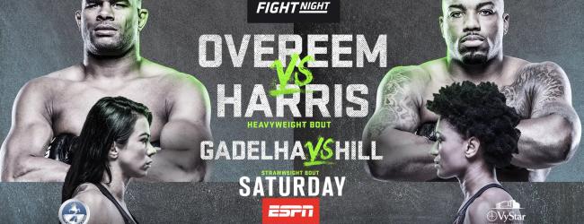 Uitslagen : UFC on ESPN 8 : Overeem vs. Harris
