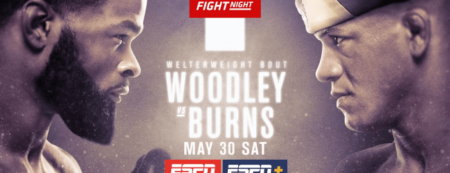 Uitslagen : UFC on ESPN 9 : Woodley vs. Burns