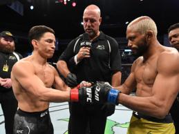 """Figueiredo vs. Benavidez 2 voor vacante titel + Pantoja vs. Askarov, waarschijnlijk """"Fight Island"""""""