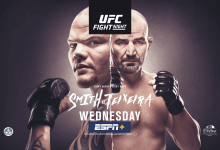 Uitslagen : UFC on ESPN+ 29 Jacksonville : Smith vs. Teixeira