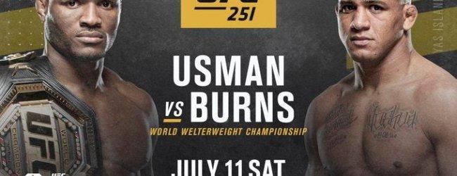Kamaru Usman verlaat Sanford MMA voor gevecht tegen trainingspartner Gilbert Burns