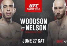 Sean Woodson treft Kyle Nelson in Las Vegas op 27 juni aanstaande