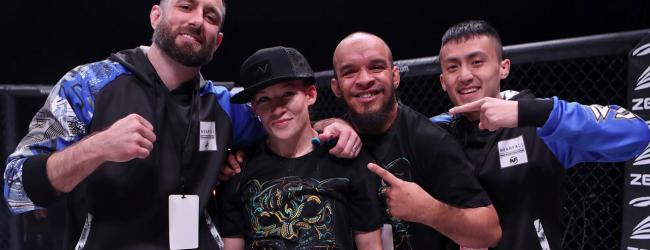 Jinh Yu Frey en Kay Hansen maken UFC debuut aankomende zaterdag in Las Vegas