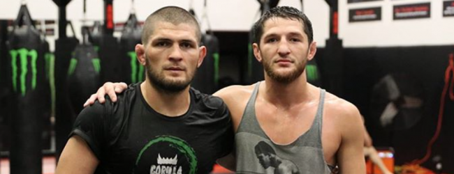 Tagir Ulanbekov maakt op 12 september tegen Bruno Silva zijn UFC debuut