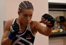 Felice Herrig treft Virna Jandiroba tijdens UFC 252 op 15 augustus