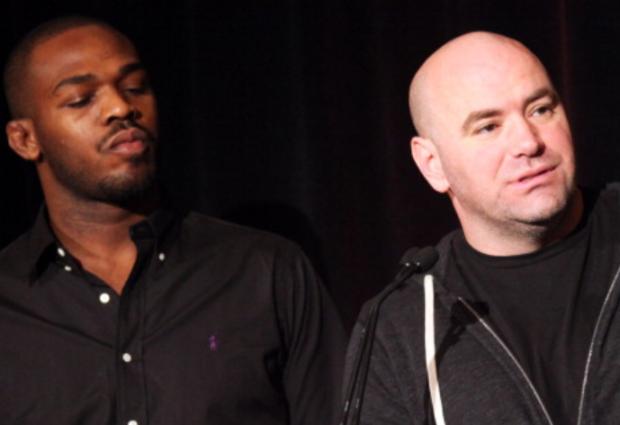 """""""Jon Jones geeft titel vrij na aanhoudende ruzie met UFC president Dana White"""""""