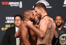 Stipe Miocic vroeg UFC om een grotere kooi tijdens UFC 252