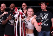 Miranda Maverick treft Gillian Robertson tijdens UFC 258
