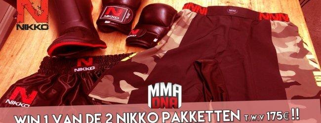 WIN een compleet Kickboks of MMA pakket! t.w.v. €175!