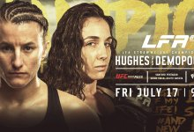 Uitslagen : LFA 85 : Hughes vs. Demopoulos