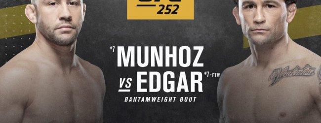 UFC verplaatst Munhoz vs. Edgar naar UFC 252