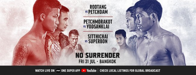 Uitslagen : ONE Championship 110 : No Surrender