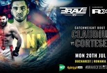 Uitslagen : Brave CF 35 : Claudiu vs. Cortese