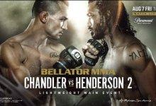 Michael Chandler en Benson Henderson treffen elkaar voor de tweede keer tijdens Bellator 243