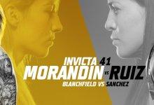 Uitslagen : Invicta FC 41 : Morandin vs. Ruiz