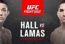 Ryan Hall vs. Ricardo Lamas gaat niet door