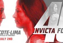 Uitslagen : Invicta FC 40 : Ducote vs. Lima