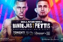 Uitslagen : Bellator 242 : Bandejas vs. Pettis