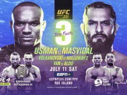 Uitslagen : UFC 251 : Usman vs. Masvidal