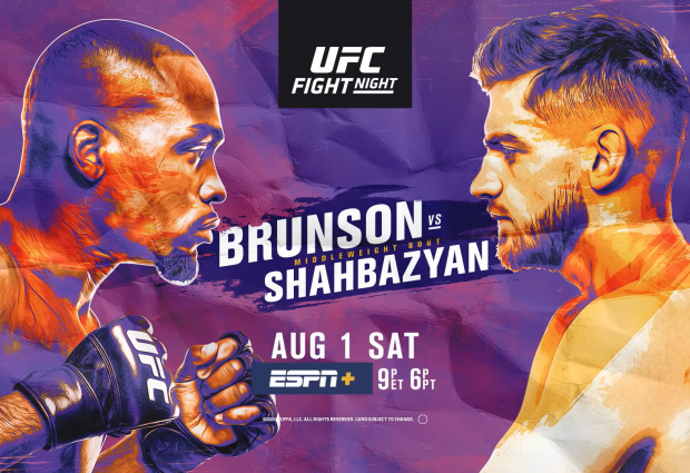 Uitslagen : UFC on ESPN+ 31 : Brunson vs. Shahbazyan