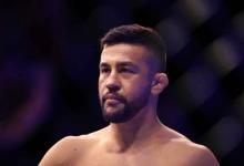 Pedro Munhoz test positief voor COVID-19, vecht NIET tegen Frankie Edgar op 15 juli