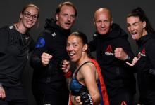 Germaine de Randamie treft Julianna Peña tijdens UFC evenement op 3 oktober