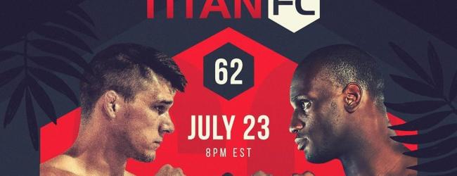 Uitslagen : Titan FC 62 : McCown vs. Gooden