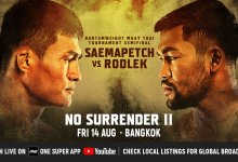 Uitslagen : ONE Championship 111 : No Surrender II