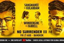 Uitslagen : ONE Championship 112 : No Surrender III