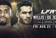 Uitslagen : LFA 88 : Willis vs. De Jesus