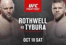 Ben Rothwell vs. Marcin Tybura toegevoegd aan UFC evenement op 10 oktober