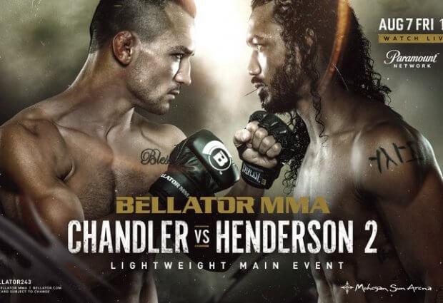 Uitslagen : Bellator 243 : Chandler vs. Henderson 2