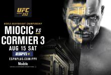 Uitslagen : UFC 252 : Miocic vs. Cormier 3