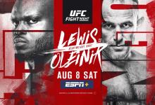 Uitslagen : UFC on ESPN+ 32 Las Vegas : Lewis vs. Oleynik