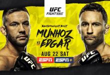 Uitslagen : UFC on ESPN 15 : Munhoz vs. Edgar