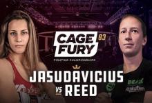 Uitslagen : CFFC 83 : Jasudavicius vs. Reed