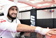 Charles Jourdain treft Joshua Culibao tijdens UFC evenement op 3 oktober