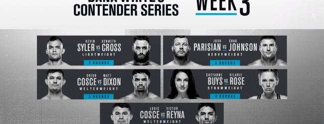 Uitslagen : DWCS Season 4 Week 3 : Cosce vs. Reyna