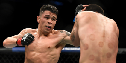 Ricky Simón treft Brian Kelleher tijdens UFC evenement op 5 september