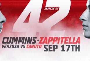 Uitslagen : Invicta FC 42 : Cummins vs. Zappitella
