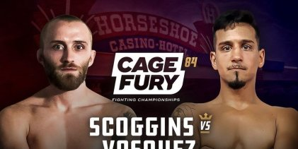 Uitslagen : CFFC 84 : Scoggins vs. Vasquez