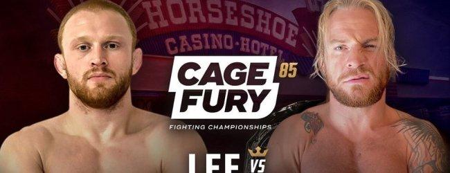 Uitslagen : CFFC 85 : Lee vs. Hill