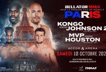 Bellator Parijs officieel bekend gemaakt, op 10 oktober mét publiek