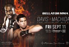 Uitslagen : Bellator 245 : Davis vs. Machida 2
