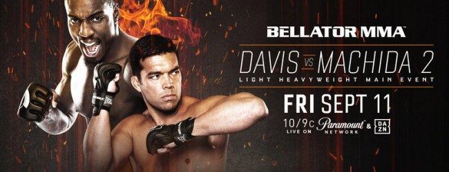 Uitslagen : Bellator 245 : Davis vs. Machida 2