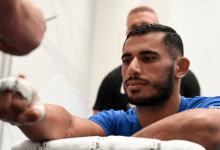 David Zawada treft Mounir Lazzez op 17 oktober tijdens UFC evenement op Yas Island